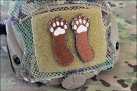 Right Two Bear Arms - Morale Patch Set - Full Color