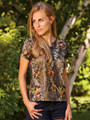 Henely Camouflage Shirt For Women