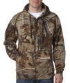 Camouflage hoodie by realtree in the ap design