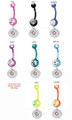 Remington Belly Rings For Gun and Bullet Jewelry Fans