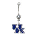 Kentucky Wildcats Belly Button Ring
