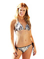Black and White Camouflage Bathing Suit For Women by Mossy Oak