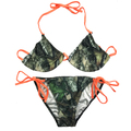 Orange String Camo Bikini for Women - Swimsuits by Huntress