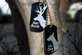 His Doe and Her Buck Dog Tags