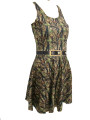 Hunting camouflage skater dress on sale