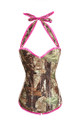 Hunting Camouflage Corset Overbust