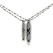jewelry necklace product crystal bullet pendant
