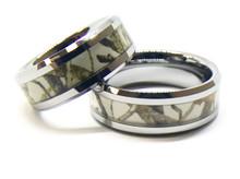 Snow White Camouflage Ring Set