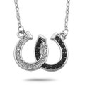 Lucky Horse Shoe Pendant Necklace