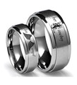 Her Cowboy and His Angel Rings - Couples Set