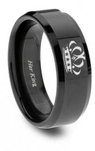 Her King Ring - Great For Couples