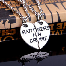 zombie partner set com gifts partners necklace apocalypse zombiegift