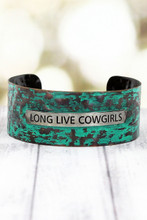 Long Live Cowgirls Bracelet