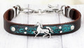 Horse Jewelry Bracelet With Patina Finish