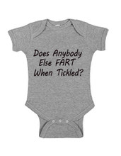 Fart When Tickled Onesie