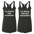 Racerback Best Friends Tank Tops Funny