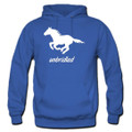 Unbridled Running Free Horse Lover Hoodies