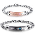 Her King and His Queen Couples Bracelets
