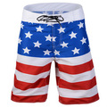 USA Board Shorts Swimsuit Stars and Stripes