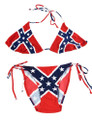 1- Rebel Flag String Bikini