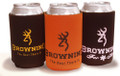 Browning Orange/Black Can Coozies