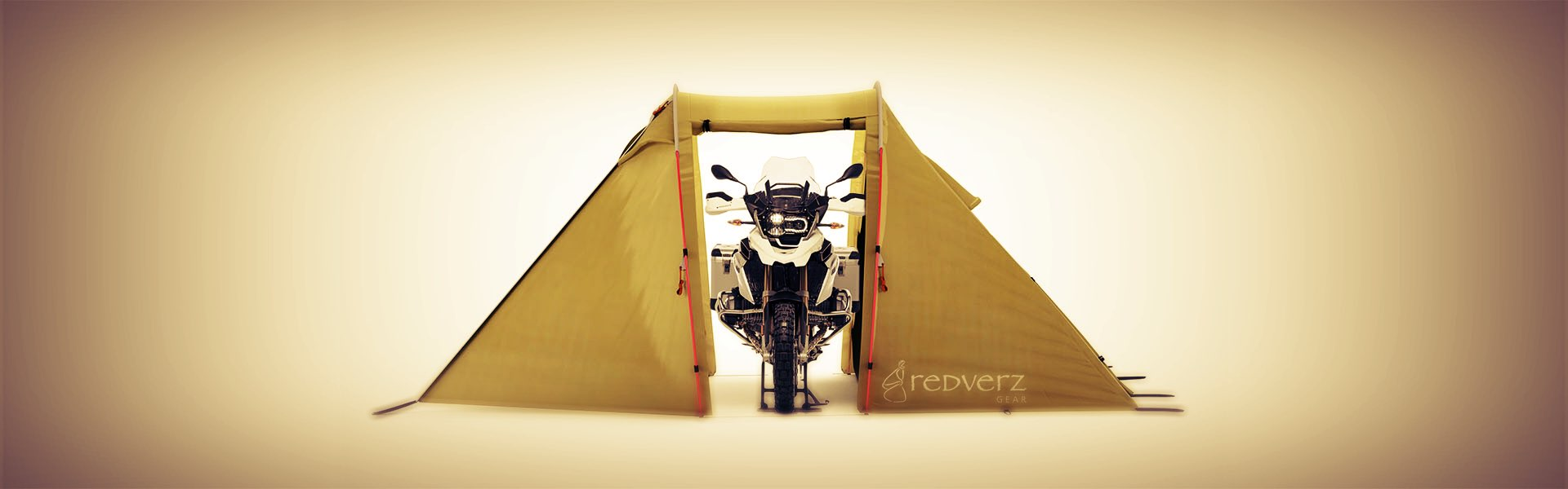 Redverz Gear's Original Mototent, Motorcycle Campingand motorcycle tents