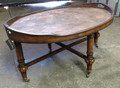 KINCAID FURNITURE HIDDEN TREASURE COLLECTION OVAL COCKTAIL TABLE