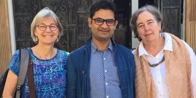 Jody Slocum, Jabbar Khatri and Mary Anne Wise