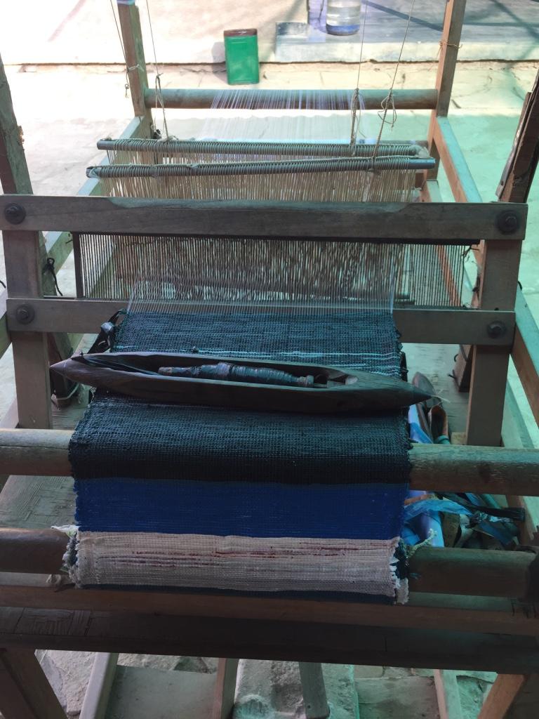 Loom at the Shamir Craft Resource Center