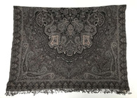 "Handwoven Boiled Wool Throw India (60"" x 84"")"