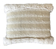 """Handwoven Wool Traditional Cloth Pillow Morocco (12"""" x 14"""")"""