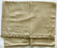 "Handwoven Pashmina and Banana Fiber Throw India (58"" x 82"")"
