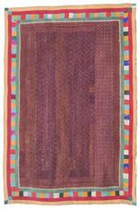 "Handmade Ralli Quilt 1 India (55"" x 82"")"