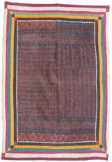 "Handmade Ralli Quilt 2 India (44"" x 61"")"