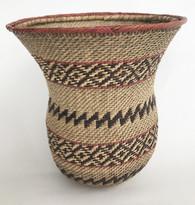 "Handmade Natural Fiber Ye'kwana Basket Venezuela 2 (7"" T x 7""W)"