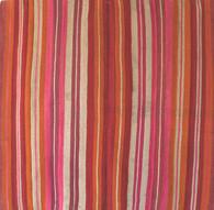 "Handwoven Wool Blanket Frazada Bolivia 2 (58"" x 60"")"