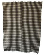 """Handwoven Vintage Woolen Blanket 9 Guatemala (59"""" x 74"""")"""