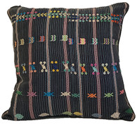 "Handwoven Traditional Maya Brocade Pillow Guatemala (20""""x 20"")"