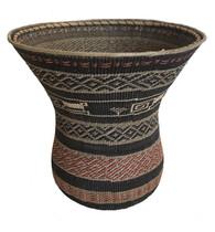 "Handmade Natural Fiber Ye'kwana Basket Venezuela (10"" T x 8""W)"