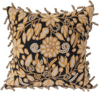 "Peru Woolen Hand Woven and Embroidered Pillow (18""x18"")"
