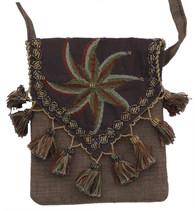 "Handmade Embroidered Bedouin Shoulder Bag 6 (7"" x 7"")"