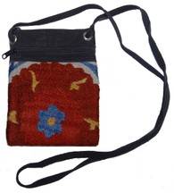 Cross Shoulder Zipper Pouch Purse Uzbekistan