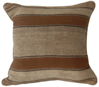 "Handwoven Traditional Woolen Pillow Peru (17"" x 17"")"