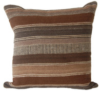 "Handwoven Traditional Woolen Pillow Peru (16"" x 16"")"