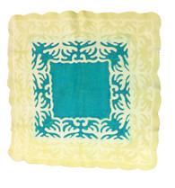 "Handmade Wool Felt Baby Blanket 3 Kyrgyzstan ( 43"" x 43"")"