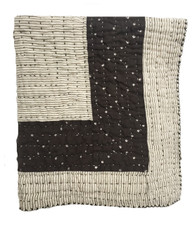 "Handmade Organic Cotton Tie Dye Baby Quilt 1 (29"" x 48"")"