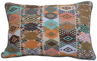 "Maya Brocade Pillow Guatemala (12"" x 17"")"