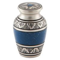 Athens Pewter Blue Keepsake (Small)