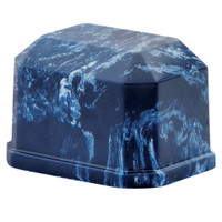Navy Blue Marble Keepsake