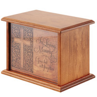 Prestwick Engraved Cherry Urn